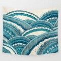 Svetanya Colinas de Esperanza Mandala Tapiz tapices Decorativos de Montaña Imprimir Colgante de Pared de 58x51 pulgadas (Playa toallas Multifunción)