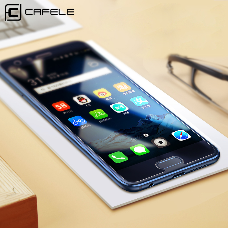 CAFELE Tempered Glass For Huawei Honor 9 HD Clear 2.5D Curved Edge 9H Anti-Glare Screen Protector For Huawei Honor 9