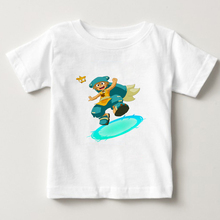 2018 Fashion Game Wakfu Print T shirt kids Short Sleeve O-neck Boy T-shirt Funny Girl Summer T Shirts children cartoon tee  NN цены онлайн