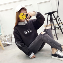 BTS Open Sleeve Fake Two Piece Sweatshirts (14 Models)