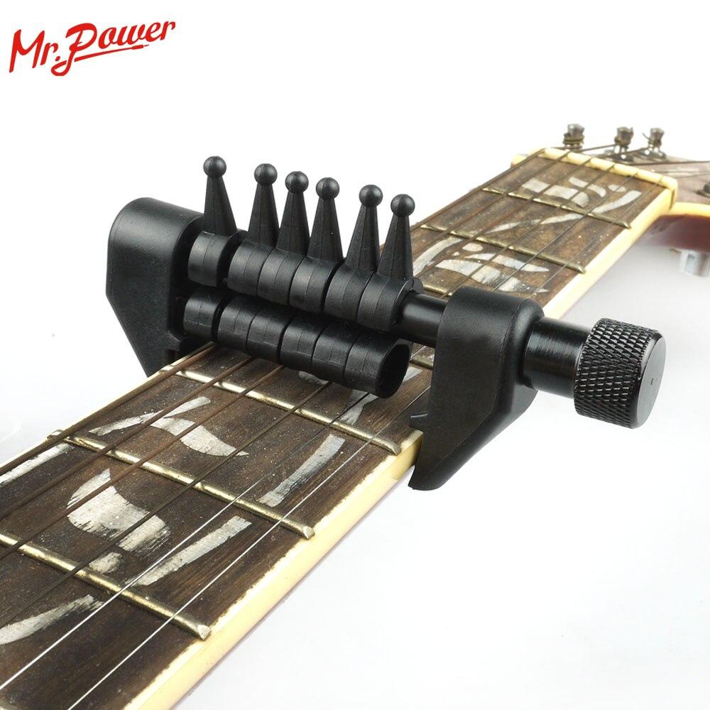 Flanger FA-20 Portable Électrique Guitare Touche Tuning Capo Acoustic Flexi-capo Musicale Effectuer capotraste 70 Un