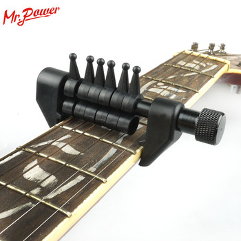 Flanger FA-20 Portable Electric Guitar Fingerboard Tuning Capo Acoustic Flexi-Capo Musical Perform capotraste 70 A flanger fc 09 acoustic guitar capo premium universal capo for 6 string classica electric guitar ukelele