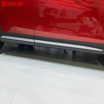 Bbincar For Mitsubishi Eclipse Cross 2018 Exterior Accessories Car Side  Door Body Sills Cover Trim Moulding Styling ABS Chrome