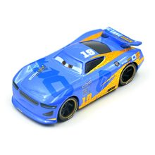 купить Disney Pixar Cars 3 Racing Center Danny Swervez NO.19 Metal Diecast Toy Car 1:55 Loose Brand New In Stock toys for children по цене 248.15 рублей
