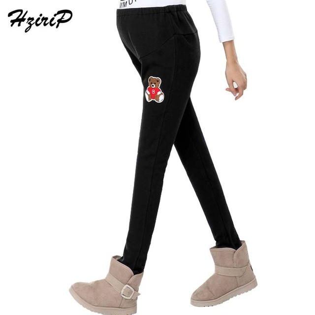 2016 New Autumn Casual Maternity Clothes High Waist Cotton Maternity Pants Leggings Loose Large Size Pregnancy Clothes 3 Colors