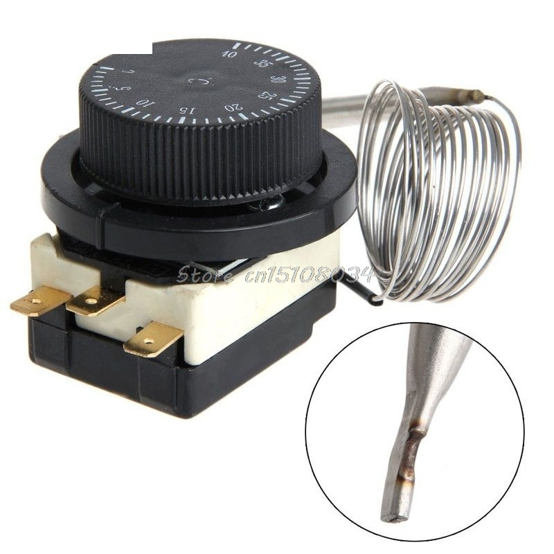 250 V/380 V 16A 0-40 Degree Switch Temperature Control Expansion Thermostat S08 Drop ship 2pcs ksd9700 250v 5a bimetal disc temperature switch n c thermostat thermal protector 40 135 degree centigrade