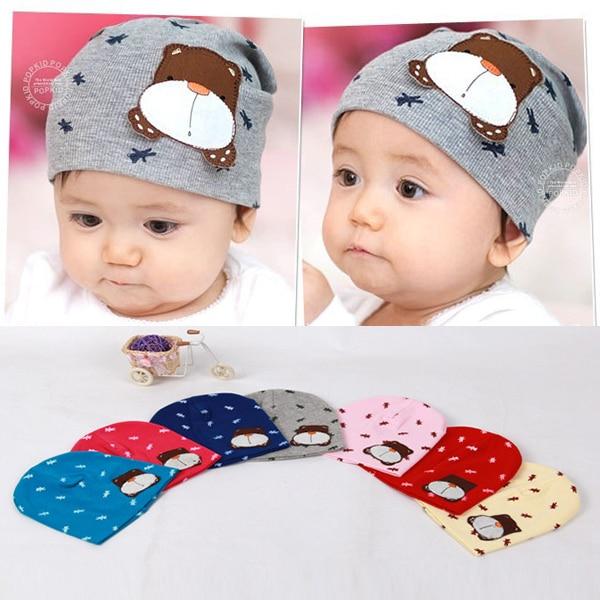 Stylish Newborn Baby Kid Photo Props Beanie Animal Print Skull Elastic Hat Gorro Cap High Quality