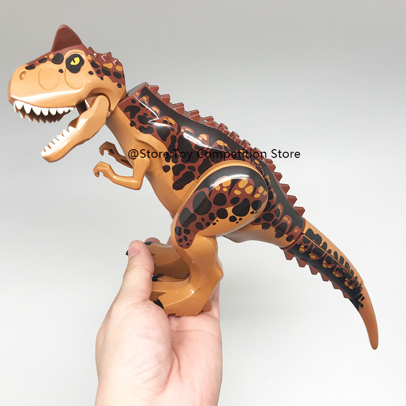 Jurassic Tyrannosaurus Indominus Rex Indoraptor World Park 2 Building Blocks Dinosaur Figures Toys Compatible With LegoING