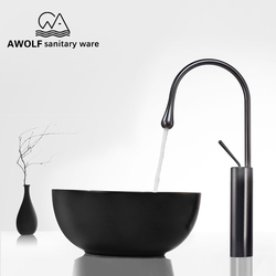 High Size Basin Faucets Bathroom Sink Elegant Standing Faucet Hot Cold Water Mixer Tap Toilet Sink Single Handle Taps ML8031