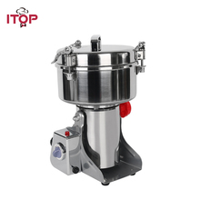 купить ITOP 500g Pulverizer 2300W Electric Food Grain Grinder Chopper, Soybean Corn Herb Automatic Milling Pulverizer дешево