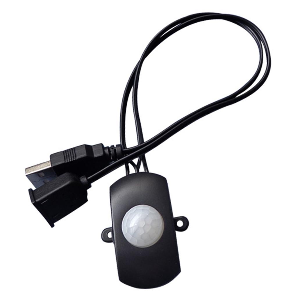 Cabinet Mini Adjustable Module DC Strip PIR Infrared Motion Sensor Automation USB Switch Detector Intelligent Sensing LED Light