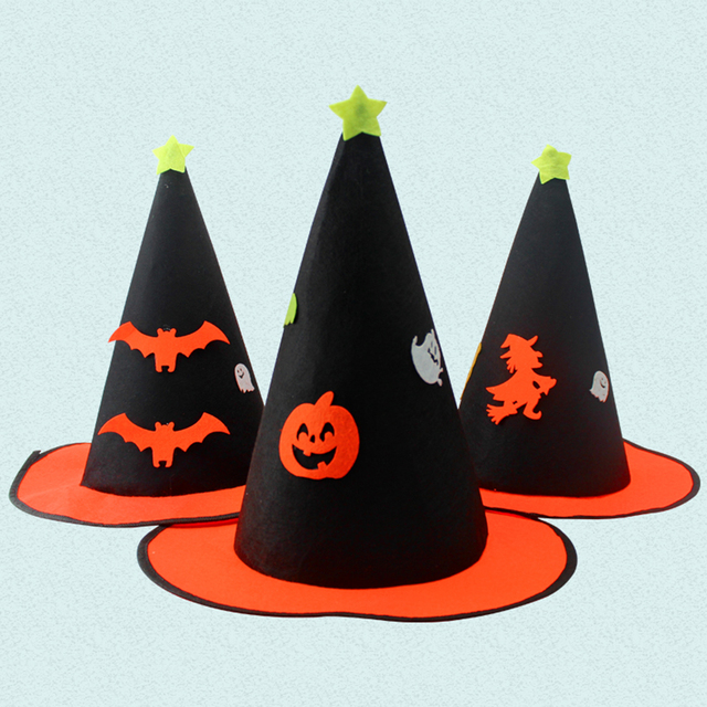 55a4713a635 Party Supplies Black Witch Hat For Halloween Costume Accessory Black  Halloween Theme Party Hat Props For Adult Women