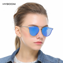 HYBOOM 2017 New Fashion Retro Polarized Sunglasses Women Cat Eye Vintage Driving Sun Glasses Leisure Pink Shades Eyewears Gafas