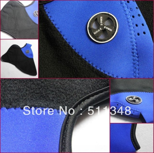 free shipping special offer 20pcs/set 100% new blue Sport Bike Motorcycle Ski Snowboard Neck Winter Warmer Face Mask face mask