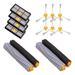 Vacuum Cleaner Parts 14PCS Accessories for iRobot Roomba 880 860 870 871 980 990 Replenishment Parts Spare Brushes Kit
