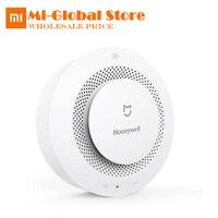 Original Xiaomi Mijia Honeywell Smart Fire Alarm Detector Photoelectric Smoke Sensor Remote Linkage Mihome APP Work