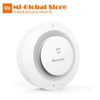 Original Xiaomi Mijia Honeywell Smart Fire Alarm Detector Photoelectric Smoke Sensor Remote Linkage Mihome APP Work