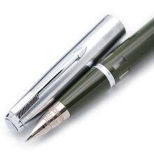 Wing Sung 601A вакуумная перьевая ручка со стальным колпачком, обновленная версия популярных чернильных ручек