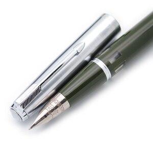 Image 1 - Kanat Sung 601A çelik kapak Vacumatic dolma kalem, güncellenmiş sürümü popüler mürekkep kalem