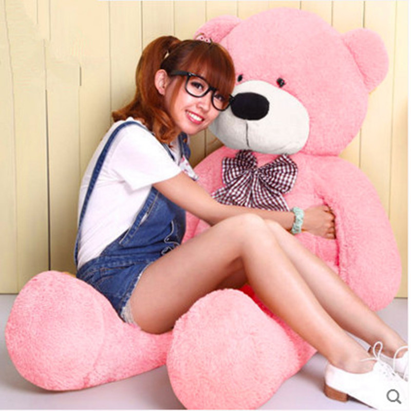 [100cm 5 Colors] Giant Large Size Teddy Bear Plush Toys Stuffed Toy Lowest Price Birthday gifts Christmas CA002 цены