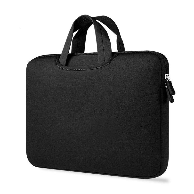 Laptop Bag Handbag Case For MacBook Air Pro 13 Notebook Sleeve Bags 11 13 15 Inch Computer Bag For Women Men