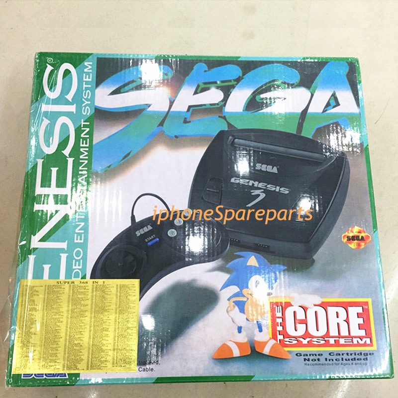 Supprot PAL System Sega MD3 Video Game Console 16 bit Classic Handheld game player MD sega megadrive 3 TV game consoles