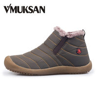 New Men Winter Snow Shoes Lightweight Ankle Boots Warm Fashion Waterproof Mens Rain Boots 2015 New