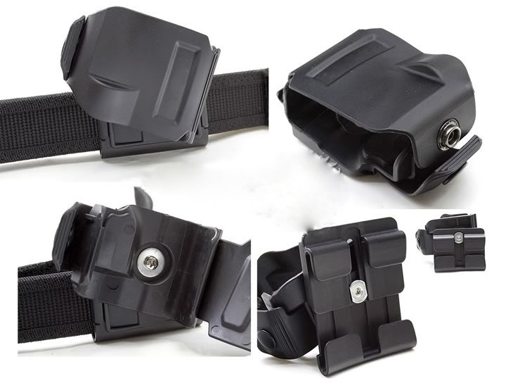 CP style models holster For GLOCK 17192223 Tactical Airsoft Paintball Hunting Shooting Roto Right-Handed Gun Clip Holster (6)