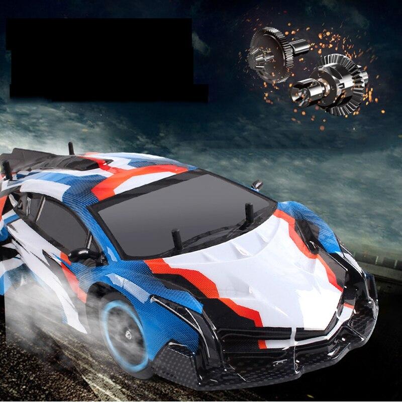 Oyuncaklar ve Hobi Ürünleri'ten RC Arabalar'de 2.4G 40 KM/SAAT 4WD Yüksek Hızlı Yarış RC oyuncak arabalar Drift Arabalar Uzaktan Kumanda Açık Havada RC Oyuncaklar Çocuklar için Hediyeler'da  Grup 1
