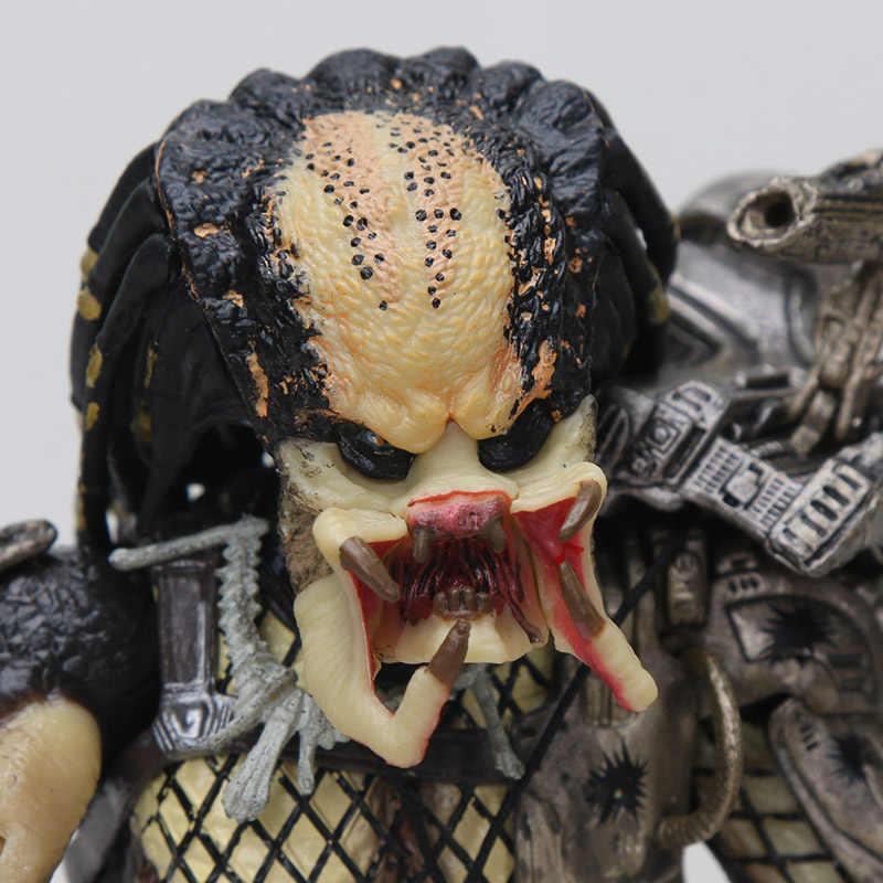 20 Cm Neca Termal Buronan Predator Seri Gambar Predator Utama Hutan Pemburu Hutan Setan Beton Pemimpin Klan Figures, Mainan