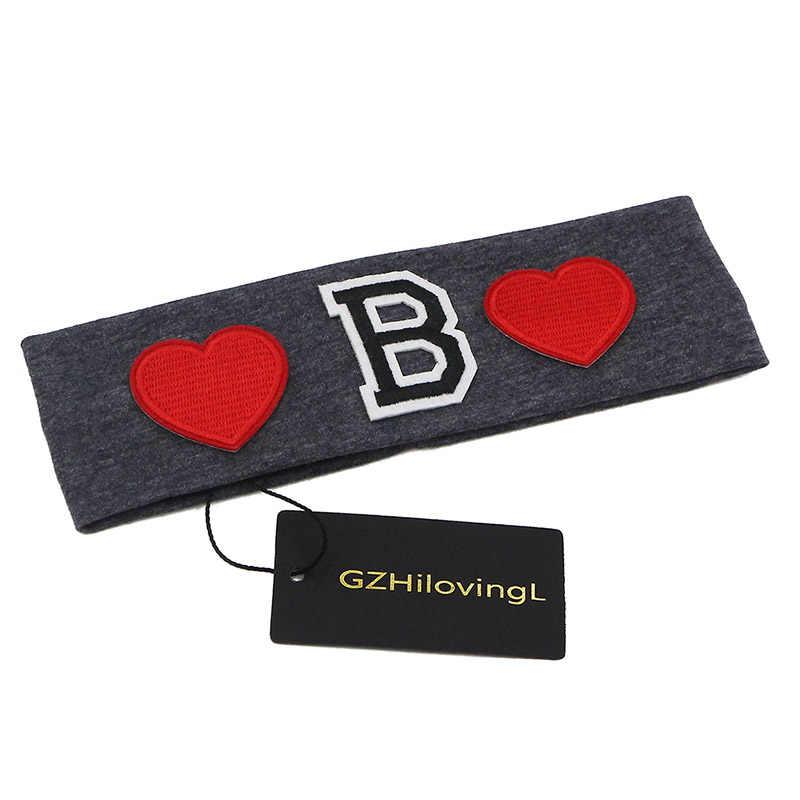 GZhilovingL милые хлопковые накладные повязки для девочек и мальчиков Мягкие Детские ободки для девочек аксессуары для волос школьные подарки