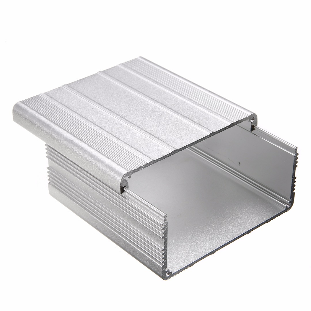 Mayitr Extruded Aluminum Enclosure Case DIY Electronic Project PCB Instrument Box DIY 100x100x50mm 4pcs a lot diy plastic enclosure for electronic handheld led junction box abs housing control box waterproof case 238 134 50mm