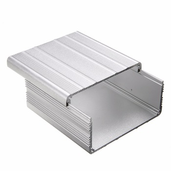 Mayitr Extruded Aluminum Enclosure Case DIY Electronic Project PCB Instrument Box DIY 100x100x50mm 2pcs aluminum alloy pcb instrument shell electric plate wall mounting enclosure project box diy 122x44x160mm new