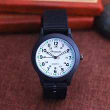 2019 CYD famous brand boys girls students canvas military watches little kids quartz digital sports wristwatches 24 hours clock