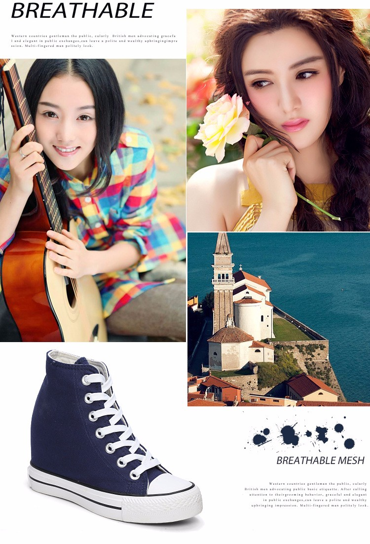 KUYUPP High Top Canvas Women Shoes Espadrilles Spring Autumn Womens Wedges Shoes Lace Up Casual Shoes For Female Sapatilha YD120 (24)