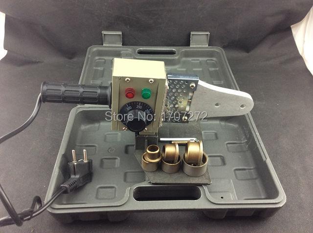 Temperatuuri abil juhitav plastkeevitusmasin AC 220V 600W 20-32mm - Keevitusseadmed - Foto 3