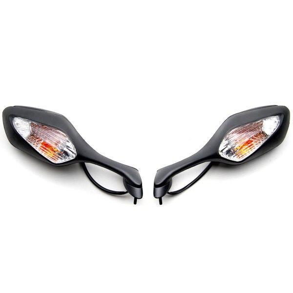 Juoda veidrodžiai + posūkio signalas 2008-2012 m. Honda CBR 1000RR - Motociklų priedai ir dalys - Nuotrauka 3