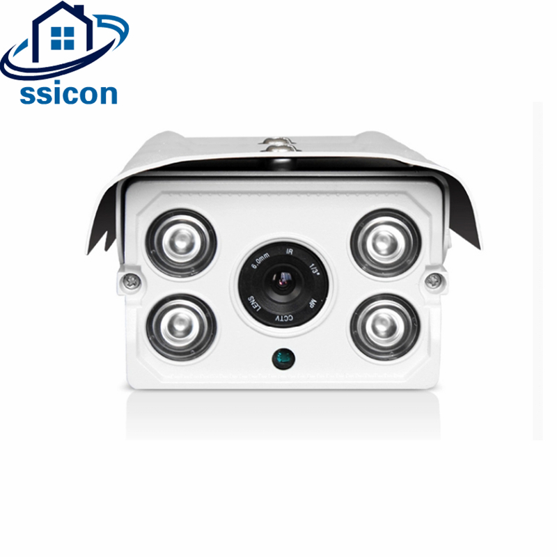 SSICON 2.0MP P2P Onvif Security Bullet Camera Outdoor IP 4mm Lens 1080P XMEYE APP Waterproof IP Camera Night VisionSSICON 2.0MP P2P Onvif Security Bullet Camera Outdoor IP 4mm Lens 1080P XMEYE APP Waterproof IP Camera Night Vision
