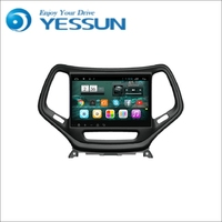 YESSUN For Jeep Cherokee Android Big Screen Car Navigation GPS HD Touch Screen Stereo Player Multimedia Audio Video Radio