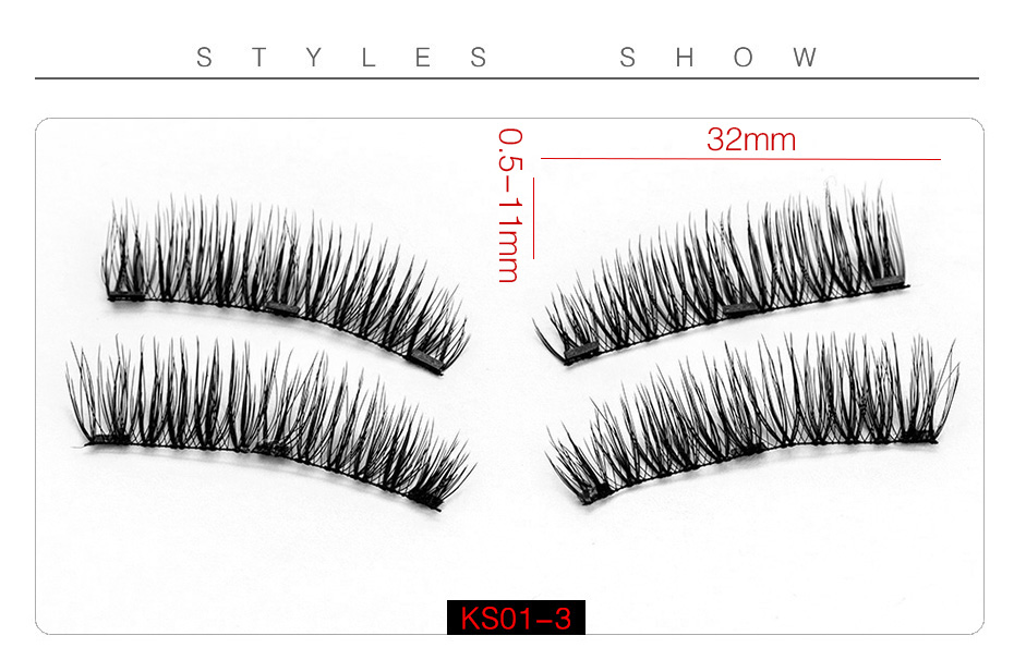 3d Magnetic False Eyelashes (7)