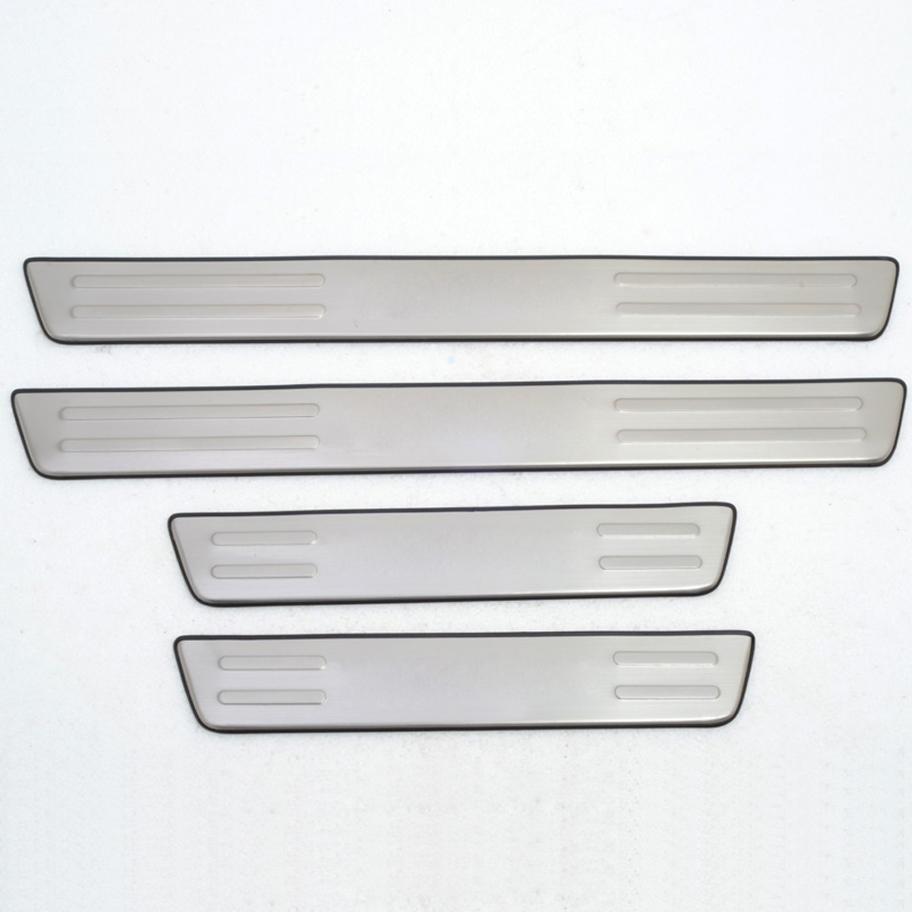 For Hyundai Tucson 2005 2006 2007 2008 2009 First Generation Stainless Steel Door Sill Scuff Plate