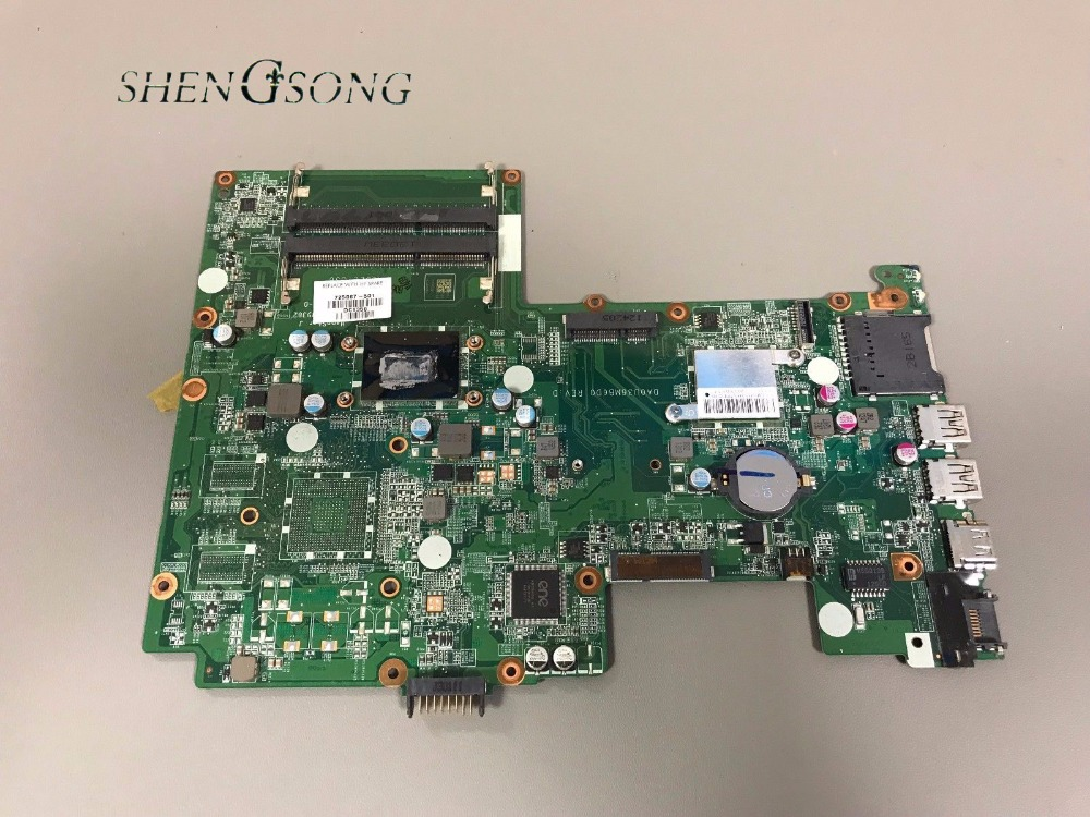 725067-001 Free Shipping 725067-501 Laptop motherboard FOR HP Pavilion Touchsmart 15-B 15-B123CL Motherboard HM77 i5-3337U for hp laptop motherboard 6570b 686976 001 motherboard 100% tested 60 days warranty