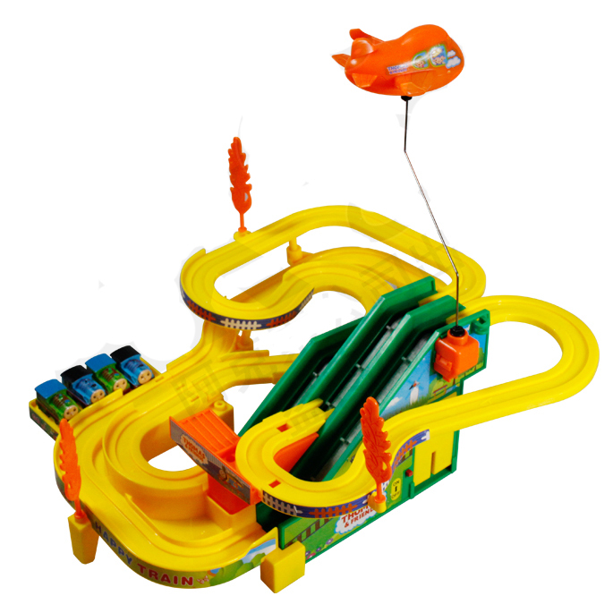 plastic track car toy for children music light puzzle electronic the train rail track car kids toys