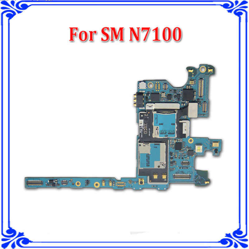 Detail Feedback Questions about N7100 Original motherboard Europe