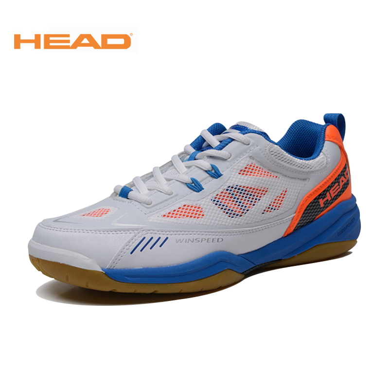 HEAD Badminton Shoes Mens Breathable Light Shock Absorbant Brand Original Tennis Shoes Sneakers Sport Badminton Shoes For Men