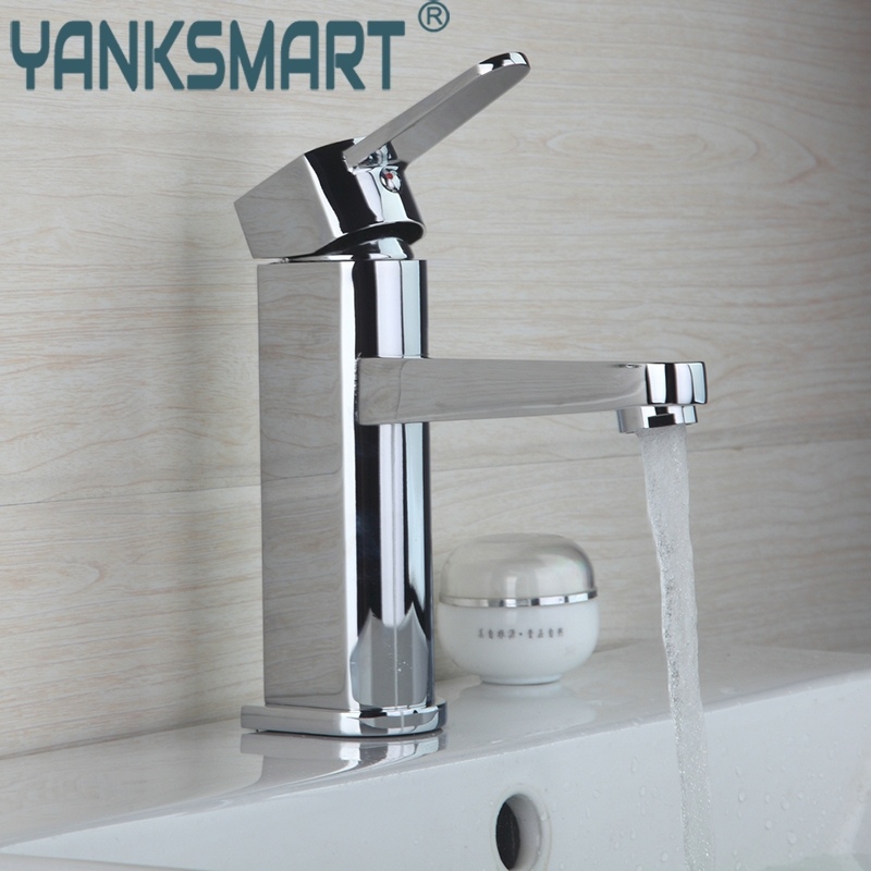 bathroom basin faucet Deck Mounted Chrome Bathroom Faucet 8364 Vanity Vessel Sinks Mixer Tap Cold & Hot Water Tap Stream Spray contemporary kitchen faucet hot and cold mixer water tap deck mounted rotate stainless steel basin sinks tap bathroom faucets