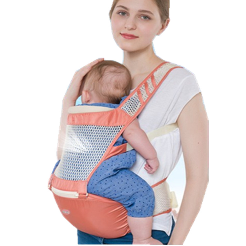 Breathable Baby Carrier Backpack Portable Infant Newborn Carrier Kangaroo Hipseat Heaps Sling Carrier Wrap цена