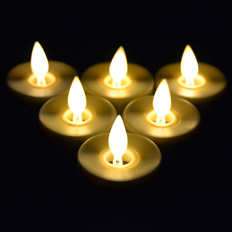 handmade rechargeable moving wick led tealights with timer luminara christmas rechargeable tealight candles set of 6 in candles from home garden on