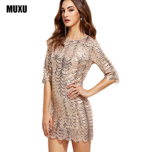 sexy dress vestidos women  sequin plus size clothing club wear moda feminina high quality vestido