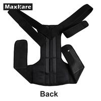 Black Bandage Guard Brace Wraps Outdoor Professional Protective Gear Bicycle Back Support Safety